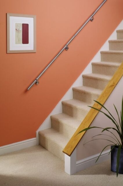 Rothley Staircase Handrail Bannister Support Kit 3 6M | Stair Banisters For Sale