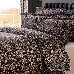 New Luxury Leopard Fur King Sz Doona Duvet Quilt Cover