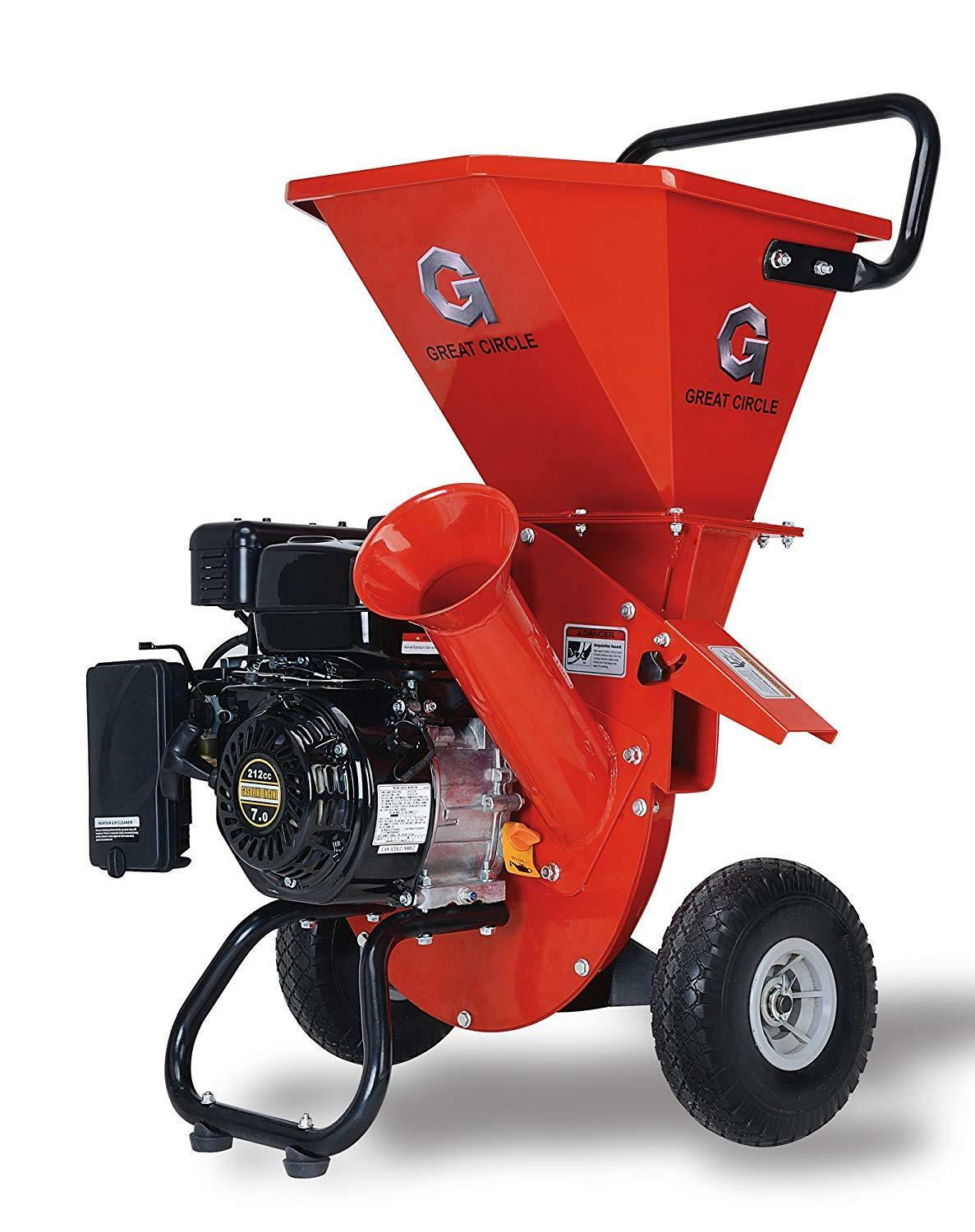 Chipper Wood Gas Powered