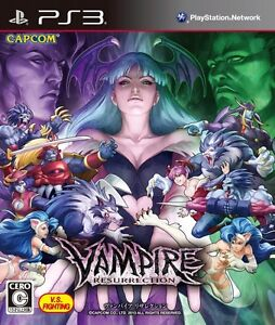 USED PS3 Vampire Resurrection CAPCOM V S Fighting Game JAPAN Ver     Image is loading USED PS3 Vampire Resurrection CAPCOM V S Fighting Game