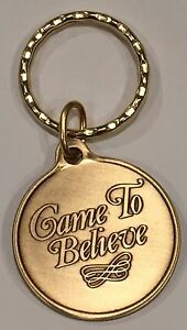 Came To Believe Bronze AA Alcoholics Anonymous Keychain Key Tag   eBay Image is loading Came To Believe Bronze AA Alcoholics Anonymous Keychain