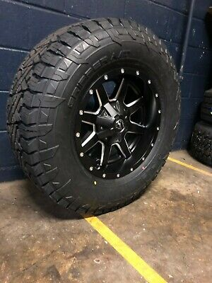 17x9 D538 Fuel Maverick 33 Quot At Wheel And Tire Package