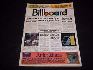 1979 JULY 21 BILLBOARD MAGAZINE - GREAT VINTAGE MUSIC ADS ...