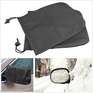 Car Side Mirror Snow Covers Protect Auto Rear View Mirrors