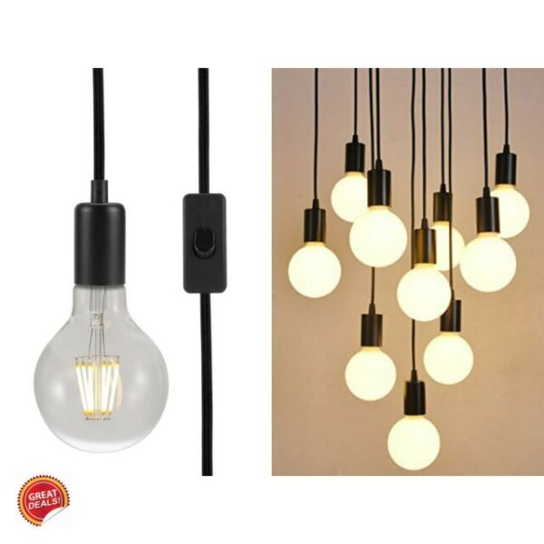 pendant lighting plug in # 34