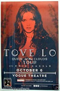 """TOVE LO """"QUEEN OF THE CLOUDS TOUR"""" 2015 VANCOUVER, CANADA ..."""