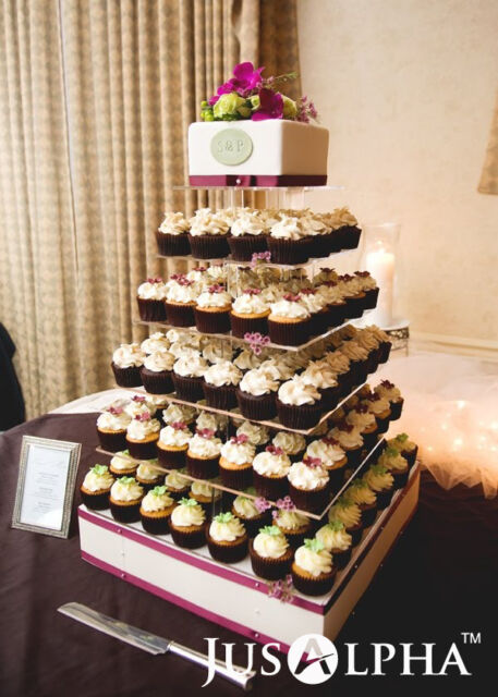 Large 7 Tier Wedding Party Cupcake Tower Stand cake and Dessert 18     Large 7 Tier Wedding Party Cupcake Tower Stand cake and Dessert 18 Inches  Cake