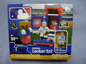 New Chicago Cubs KRIS BRYANT Buildable Lego MLB Locker Room Set 98     Image is loading New Chicago Cubs KRIS BRYANT Buildable Lego MLB