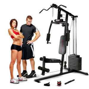 Marcy Club Home Gym Mkm 1101 Best Lat Arm Press Weight