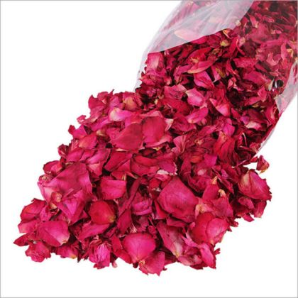 Dried Rose Petals Bath Tools Natural Dry Flower Petal Spa Whitening     Dried Rose Petals Bath Tools Natural Dry Flower Petal Spa Whitening Shower