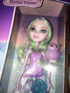 Ever After High Crystal Winter Doll Epic Winter Sparklizer