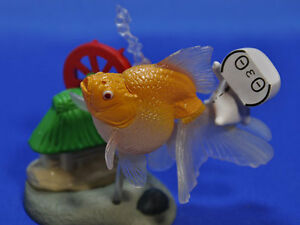 Takara Tomy capsule gold fish part 1 Rescheduled Added ver ...