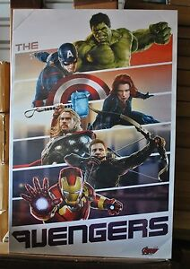 Avengers 2 Team Up Age of Ultron Framed Canvas Art Work ...