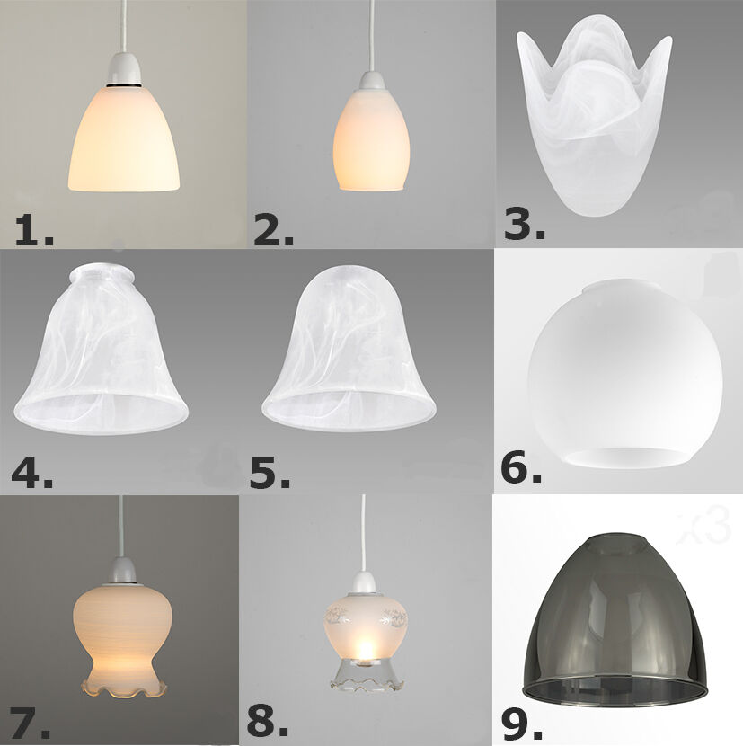 Replacement Pendant Light Globes