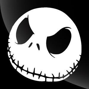 Jack Skellington Face Decal Sticker - TONS OF OPTIONS | eBay