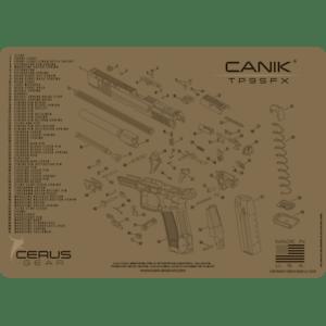 For Canik 174 Tp9sfx Schematic Promat Handgun Gun Cleaning
