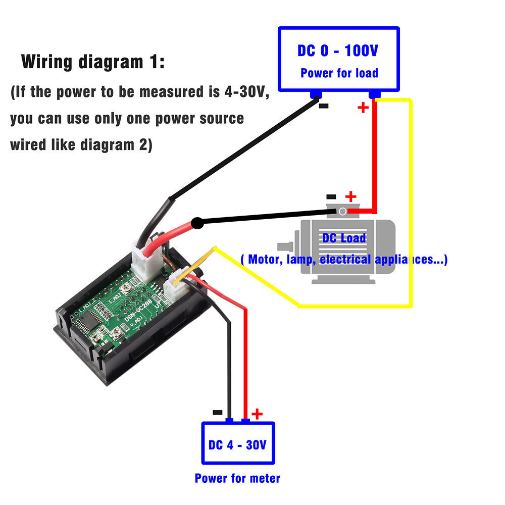 Led Voltmeter Schematic Circuit Electronics For Car Battery By Lm324