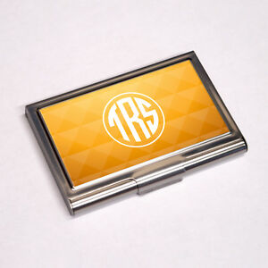 Personalised Business Card Holder Colour Printed Sublimation BCH 109     Image is loading Personalised Business Card  Holder Colour Printed Sublimation BCH