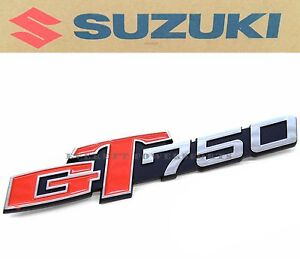New Genuine Suzuki Side Panel Cover Emblem 73-77 GT750 ...