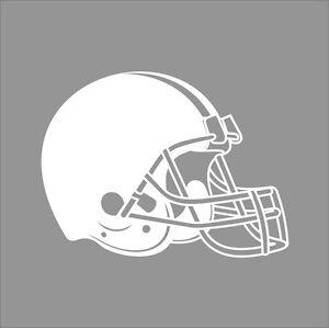 Cleveland Browns #7 NFL Team Logo 1 Color Vinyl Decal ...