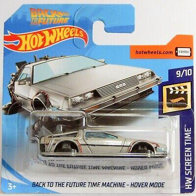 Dmc 12 Delorean Back To The Future Hover Mode Hot Wheels
