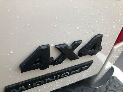 New Oem Nissan Titan Frontier Xterra Quot 4x4 Quot Emblem Midnight