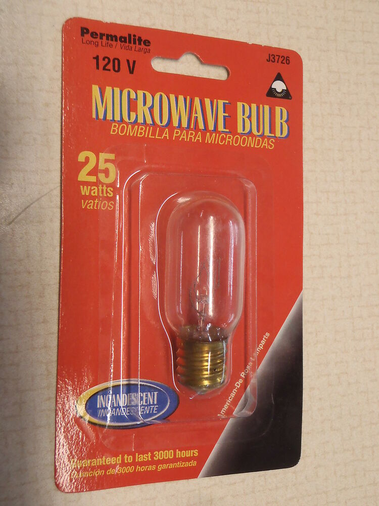 Microwave Oven Light Bulb Led Replacement