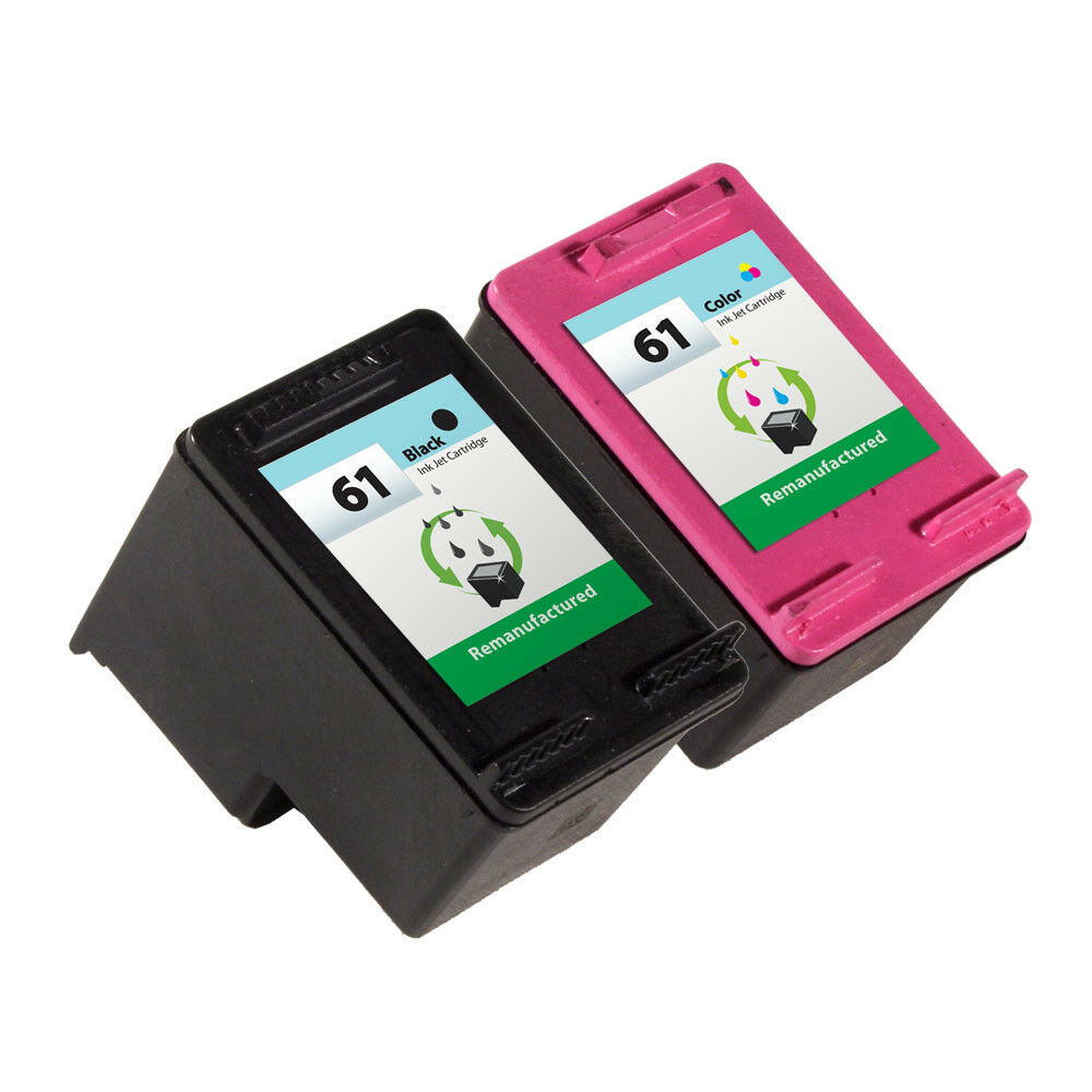 2 Pack Hp 61 Ink Cartridge Deskjet 1000 Deskjet 1050