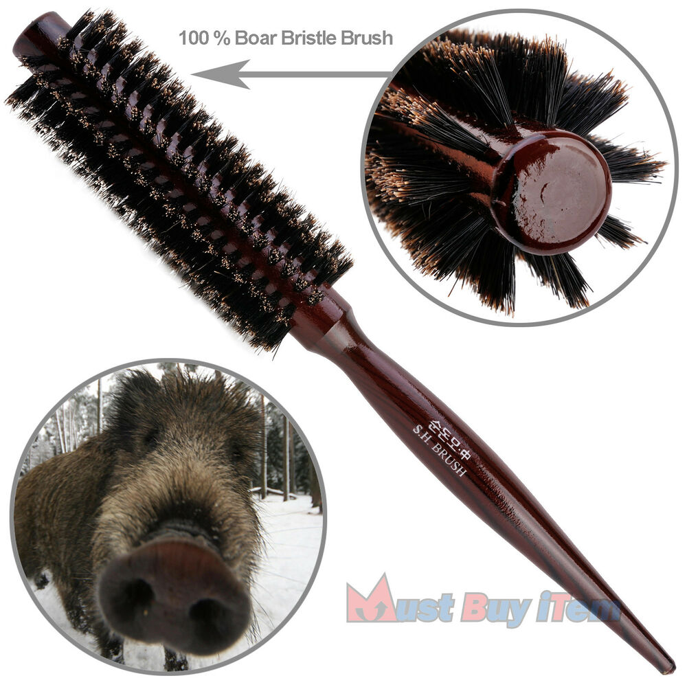 Round 100 Bristle Brush Boar