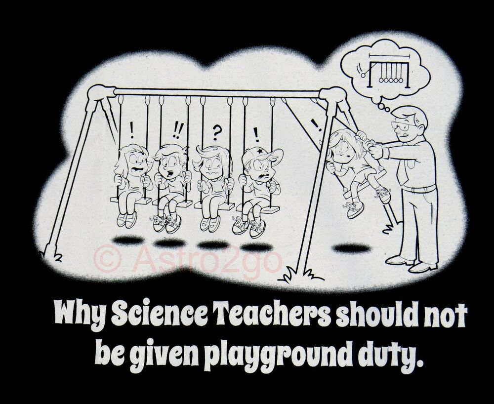 Science Teacher Playground Duty