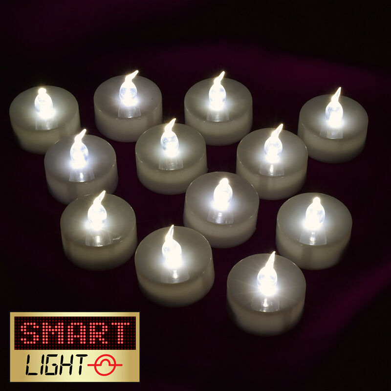 Flickering Led Tea Lights