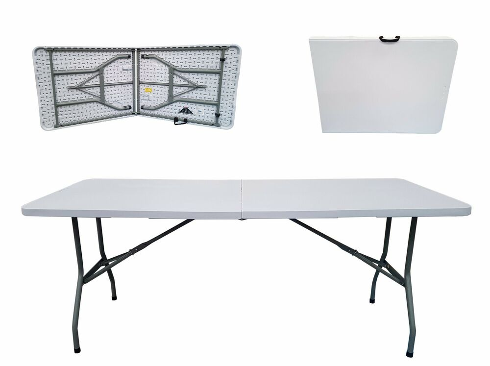 6 Ft Folding Half Table