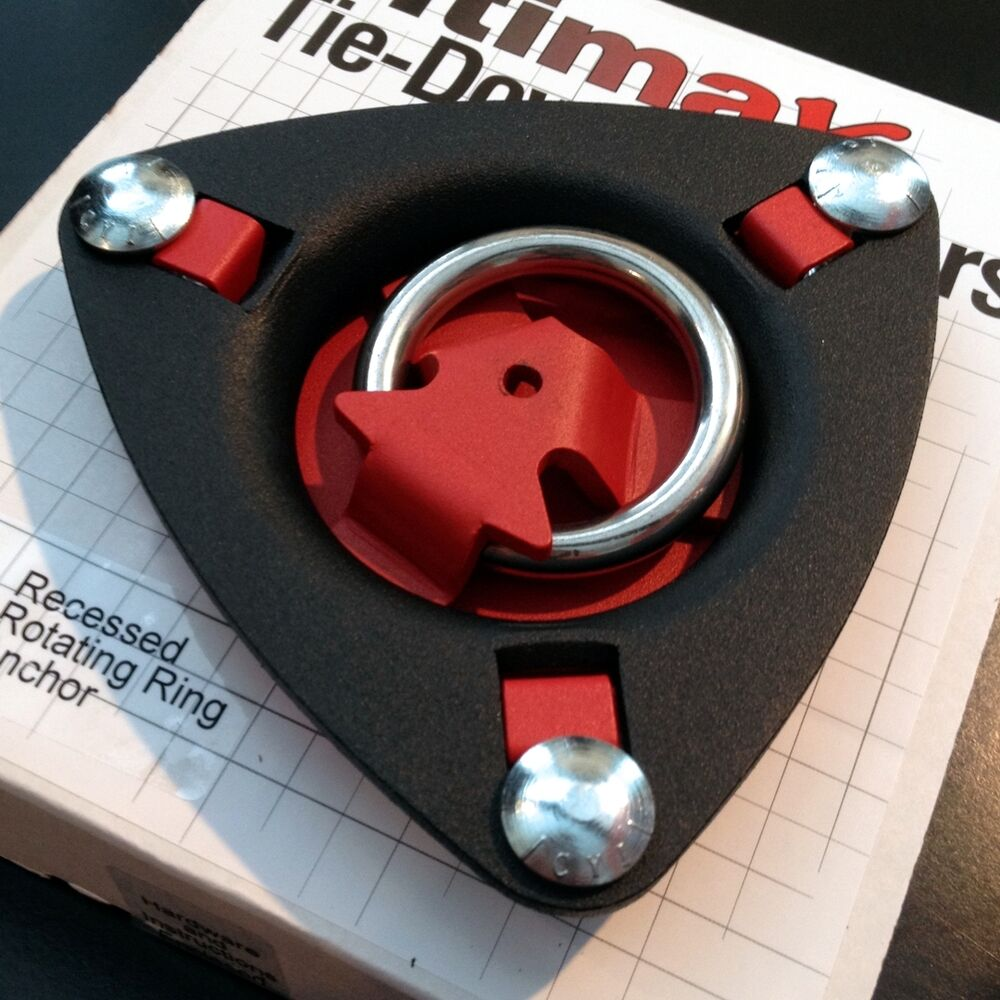 Tie Down Anchor Recessed 1 5 Ring Allows For Multiple