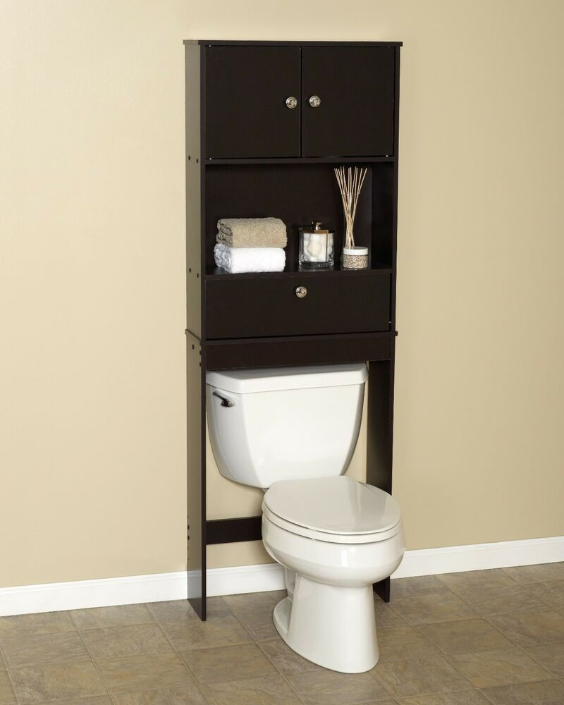 Zenith Drop Door Spacesaver Cabinet - Over the Toilet ...