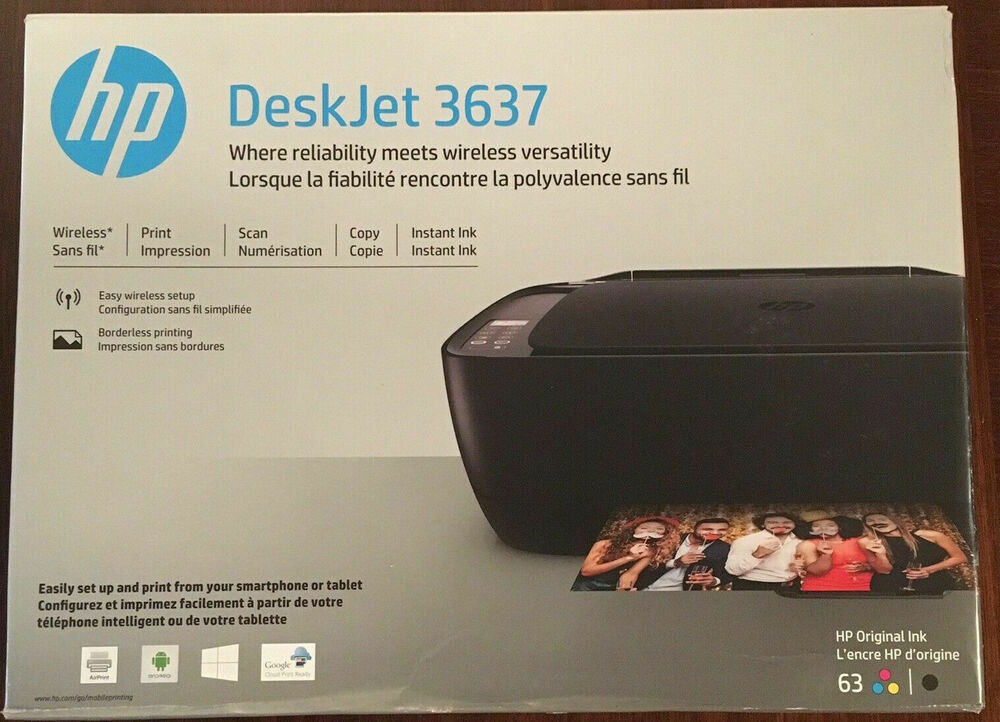 New Hp Deskjet 3631 2132 Printer All In One Smartphone