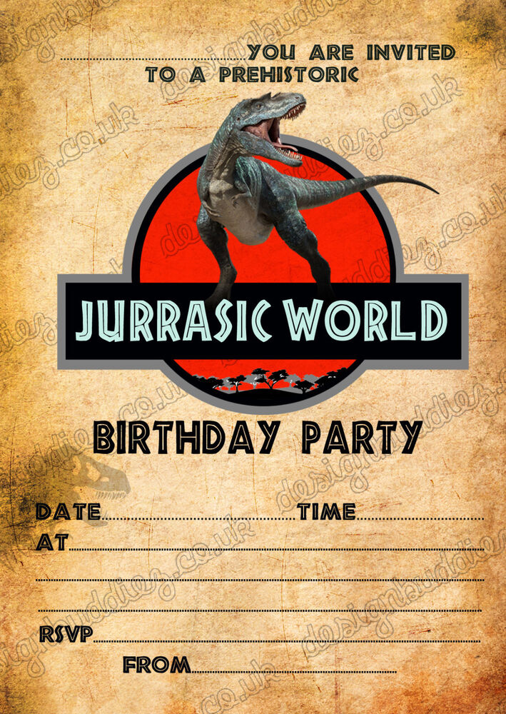 Personalised Birthday Party Invitations