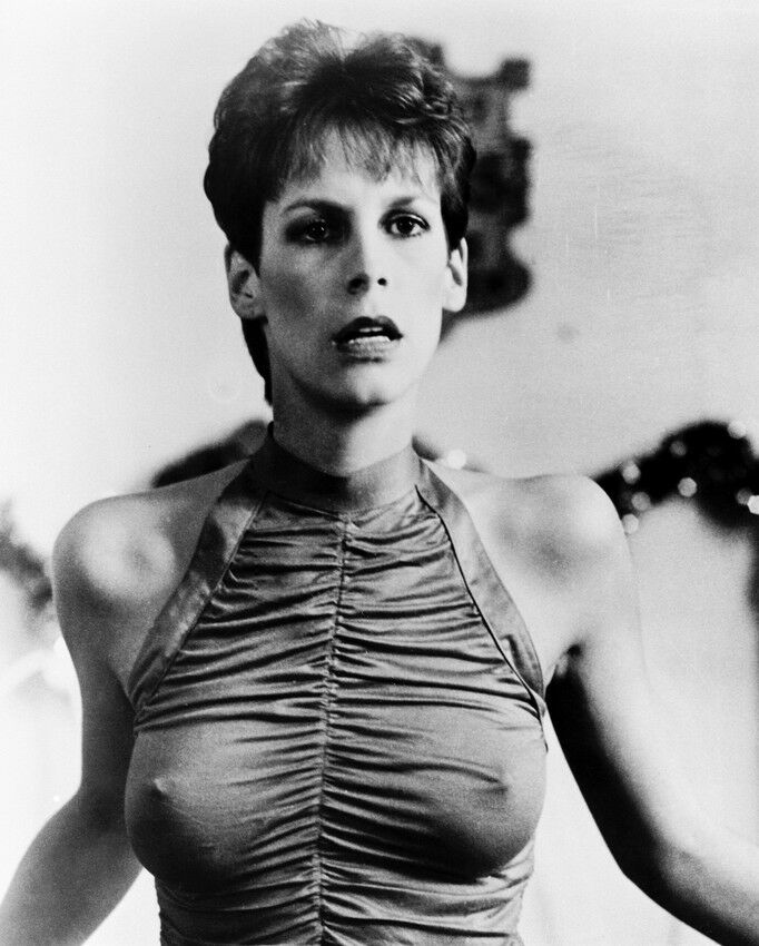 TRADING PLACES JAMIE LEE CURTIS 8X10 PHOTO BUSTY FIGURE ...
