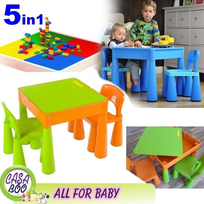 And And Toy Chair Table Organizer Bin Activity Multi Bundle Set