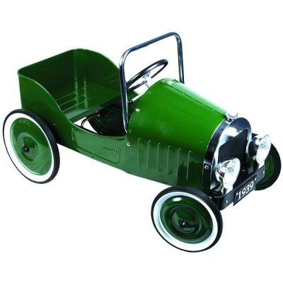 CHILDRENS PEDAL CAR CLASSIC STEEL RETRO VINTAGE STYLE ...
