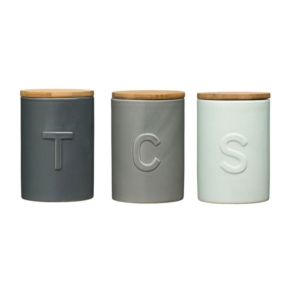 Stainless Steel Kitchen Canisters