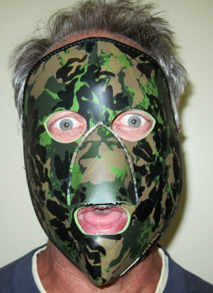 Camouflage Face Mask For Shotgun Archery Bow Hunting