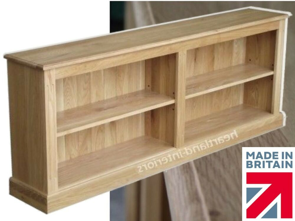 Bookcase Low Wide And