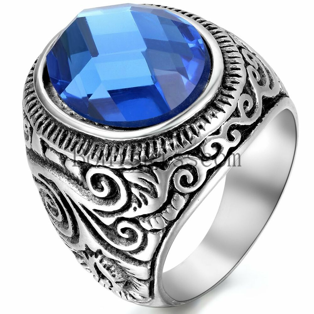 Cool Men Rings Dragon