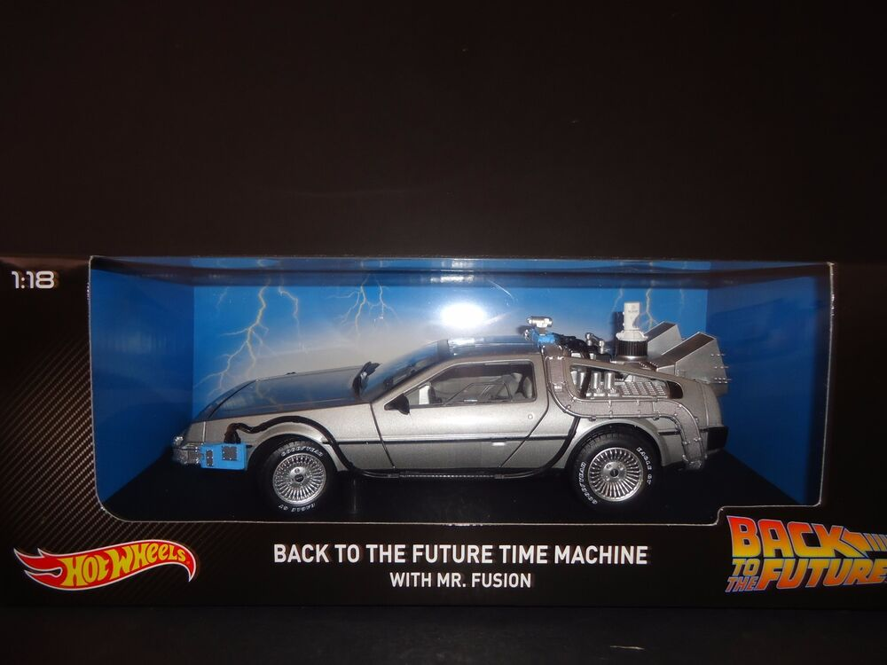 Hot Wheels Delorean Time Machine With Mr Fusion Back To