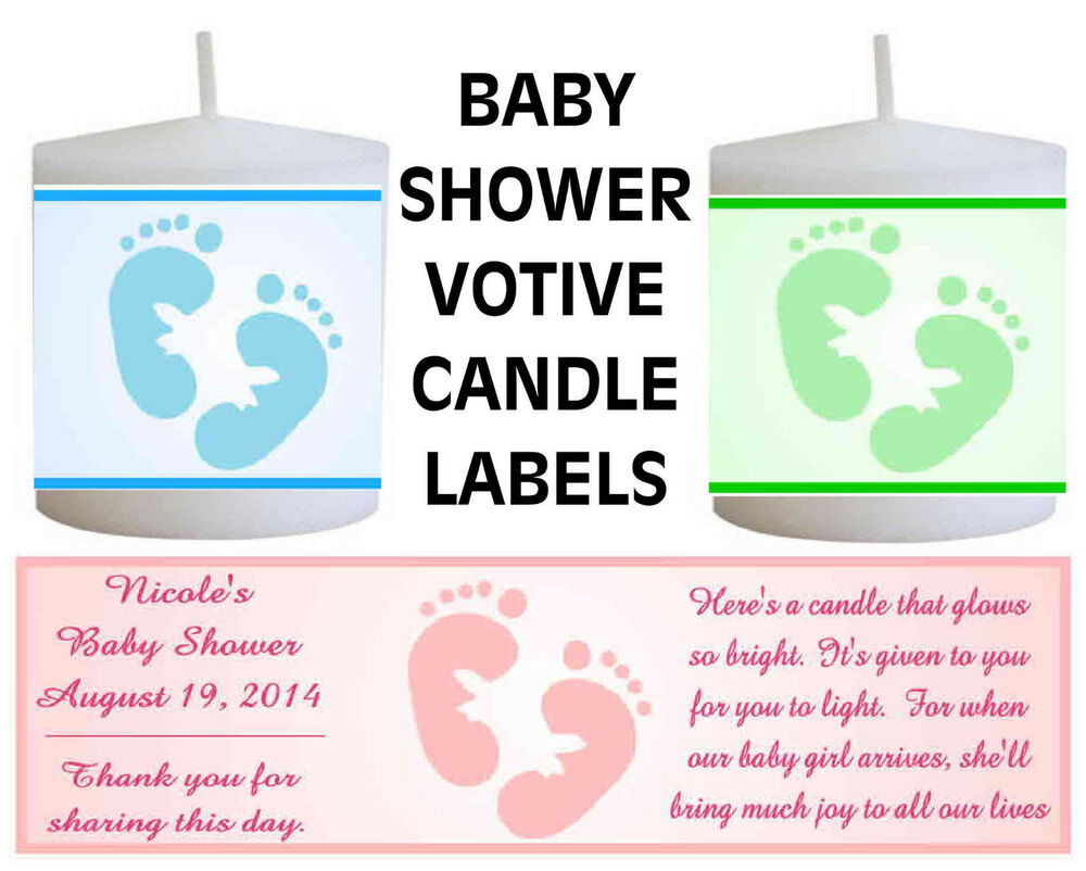 Personalized Baby Shower