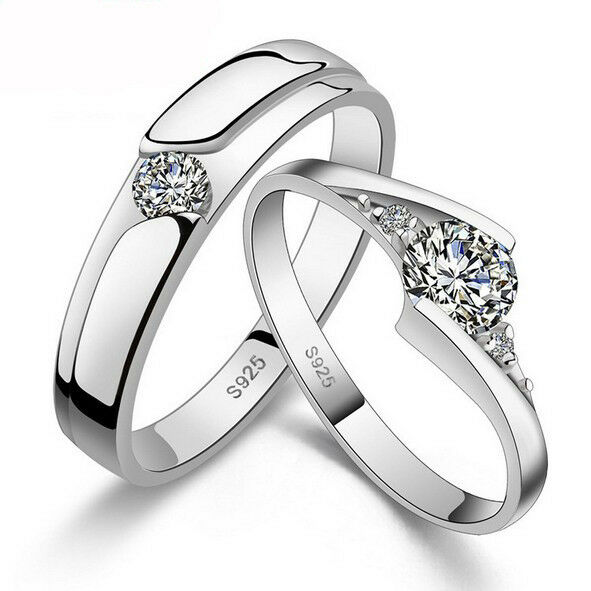 Her Sets Simple His And Matching Wedding