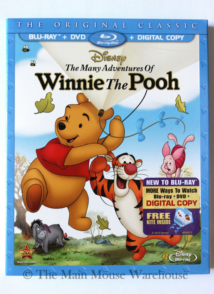 Cover Adventures Winnie Dvd Pooh Many