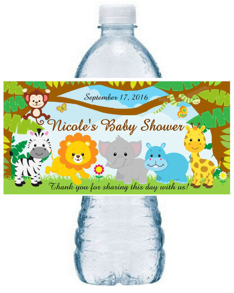 Safari Baby Shower Party Favors