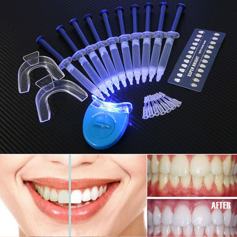 Teeth Whitening Kit Led Light