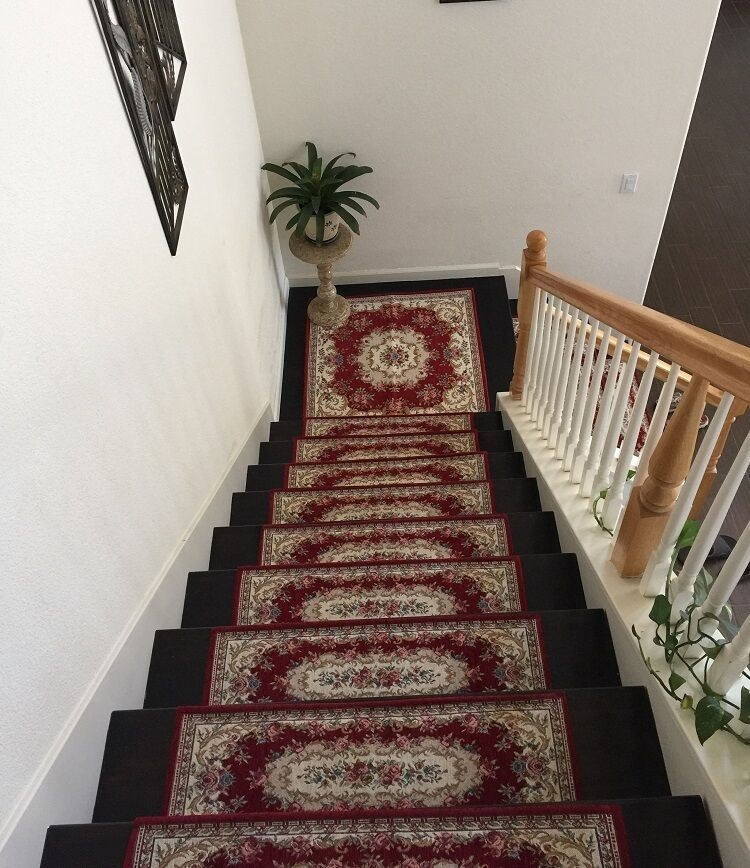 Acrylic Non Slip Stair Runners Rug Stair Treads Carpet | Carpet Runners For Carpeted Stairs